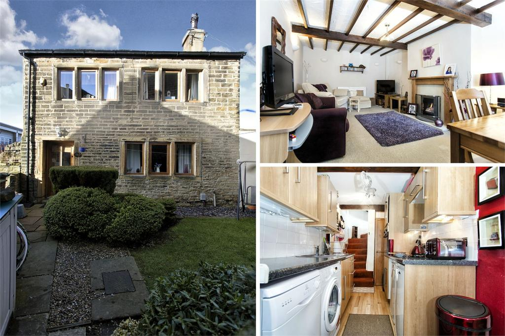 2 Bedrooms Detached House for sale in Quarmby Road, Quarmby, Huddersfield, West Yorkshire, HD3