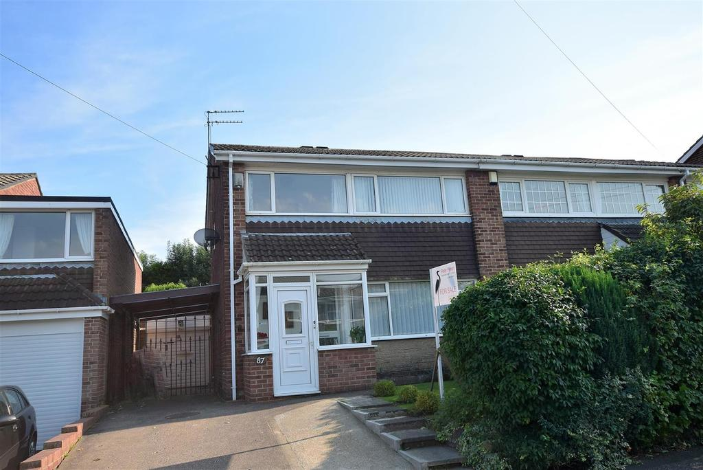 3 Bedrooms Semi Detached House for sale in Brockenhurst Drive, Hastings Hill, Sunderland
