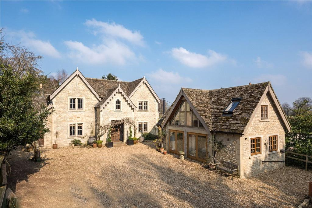 4 Bedrooms Detached House for sale in The Street, Grittleton, Chippenham, Wiltshire, SN14