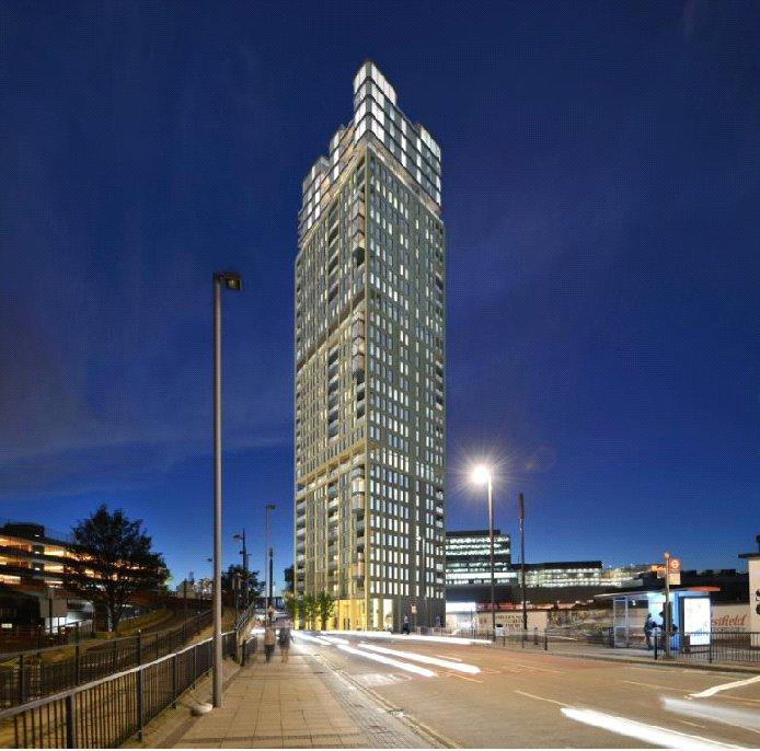 2 Bedrooms Flat for sale in Stratford Central, Stratford City, London, E15