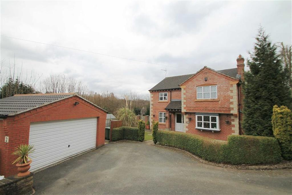 4 Bedrooms Detached House for sale in Llewelyn Court, Brymbo, Wrexham