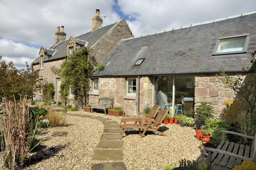 4 Bedrooms Detached House for sale in The Heritage and Heritage Cottage, Whitsome, Berwickshire, Scottish Borders