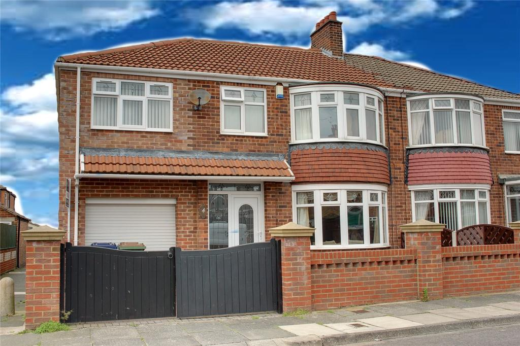 4 Bedrooms Semi Detached House for sale in Ashkirk Road, Normanby
