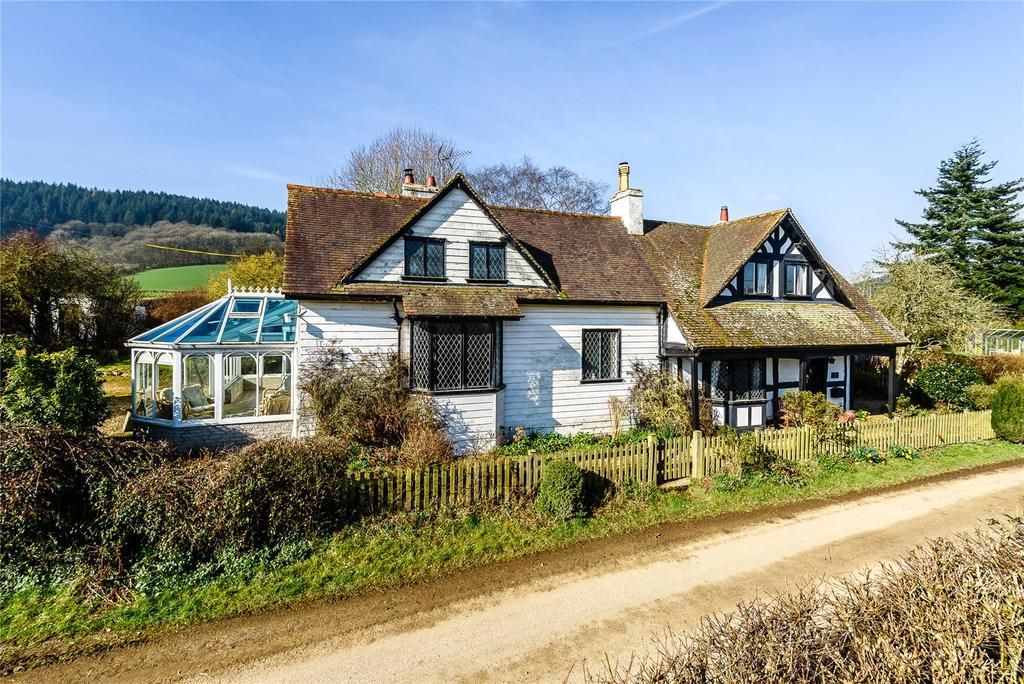 5 Bedrooms Detached House for sale in Hopton Castle, Craven Arms, Shropshire