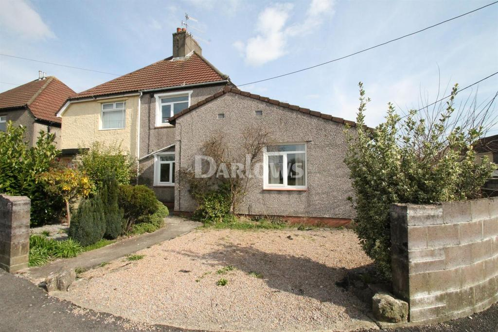 2 Bedrooms Semi Detached House for sale in Sycamore St, Pontypridd