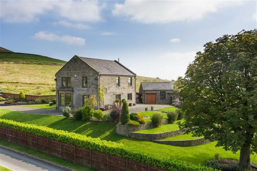 4 Bedrooms Detached House for sale in Churn Clough Reservoir, Clitheroe, Lancashire