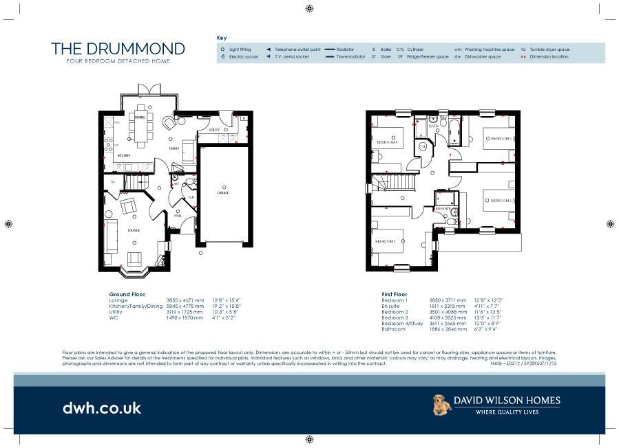 St James Place Chalton Lane Clanfield Po8 4 Bed Detached House 480 000