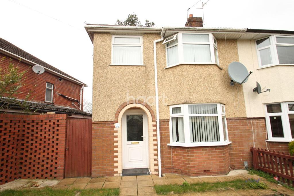 3 Bedrooms Semi Detached House for sale in Nash Grove, Newport