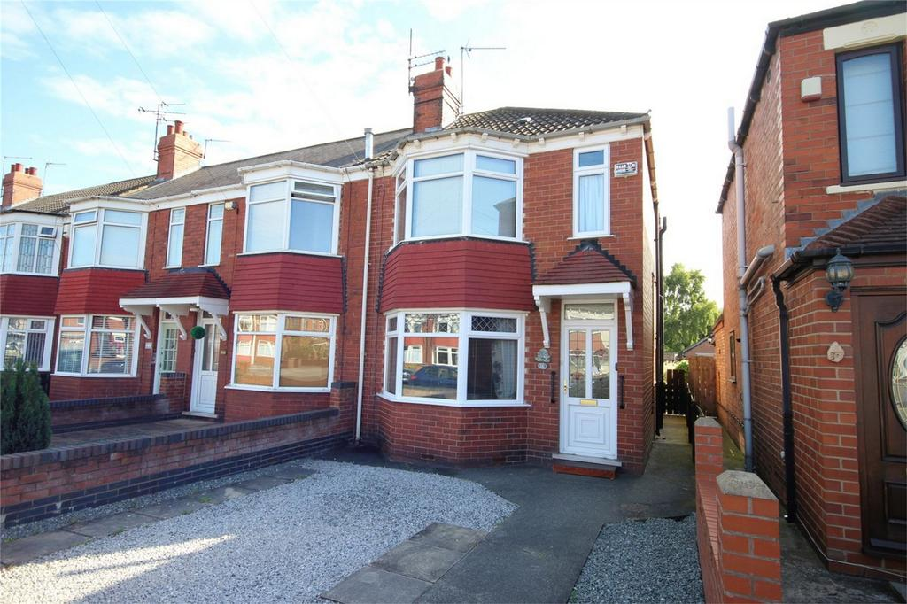 2 Bedrooms End Of Terrace House for sale in Reldene Drive, Hull, East Riding of Yorkshire