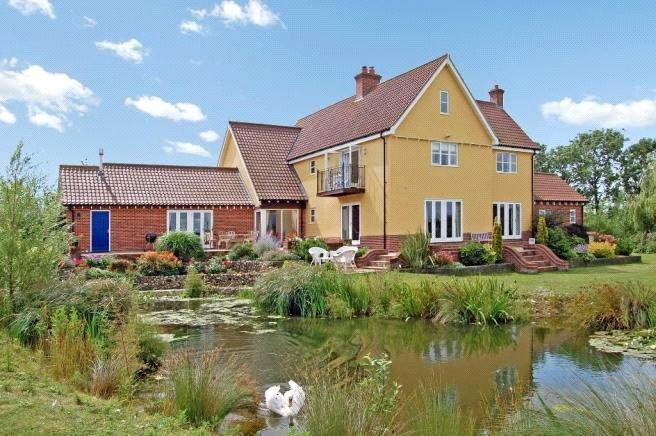 4 Bedrooms Detached House for sale in Hoxne, Nr Diss, Suffolk, IP21