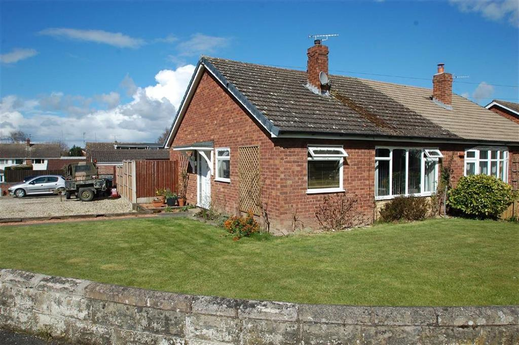 3 Bedrooms Semi Detached Bungalow for sale in Harcourt Crescent, Belvidere, Shrewsbury