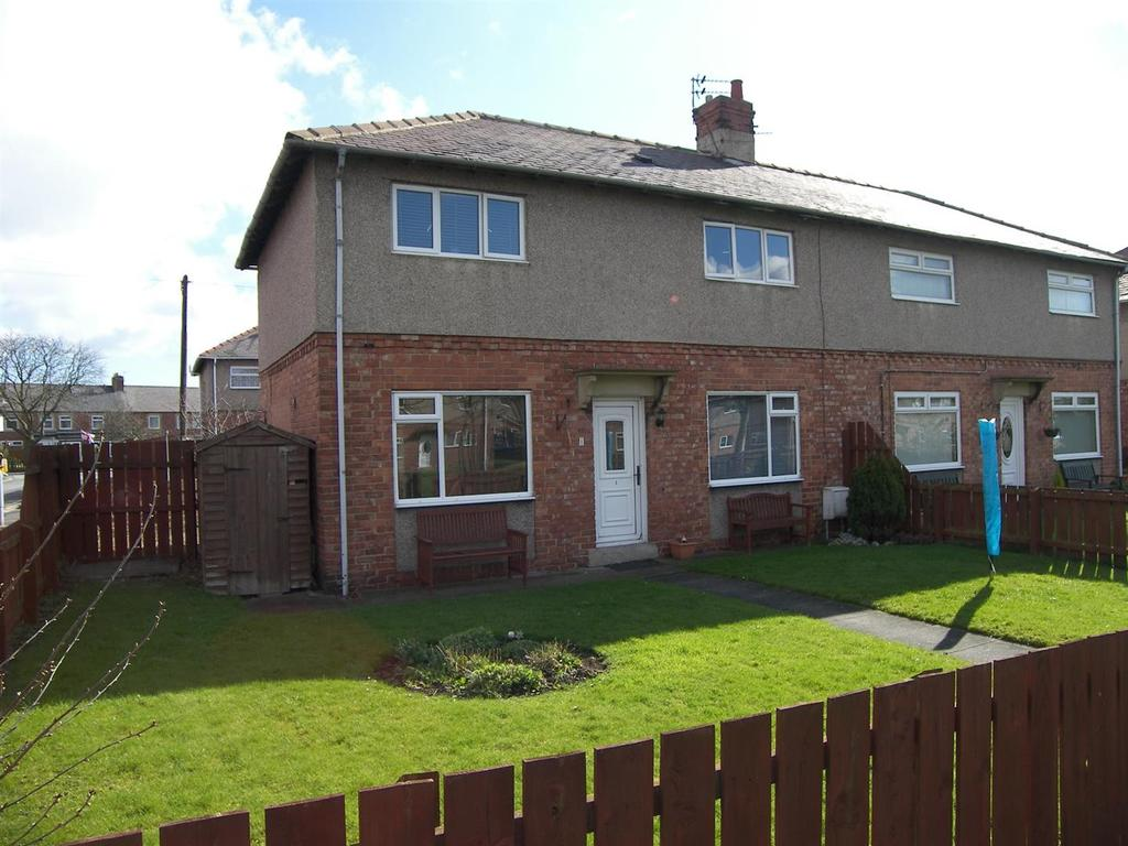 3 Bedrooms Semi Detached House for sale in Garden City Villas, Ashington