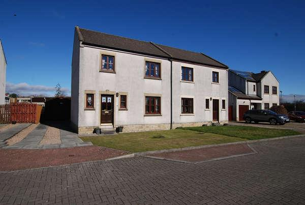 3 Bedrooms Semi-detached Villa House for sale in 25 Nursery Square, Minishant, Maybole, KA19 8AJ