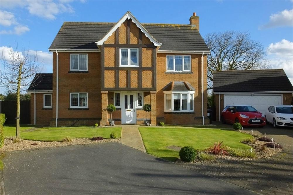 4 Bedrooms Detached House for sale in Catchpole Grove, Stickford, Boston, Lincolnshire