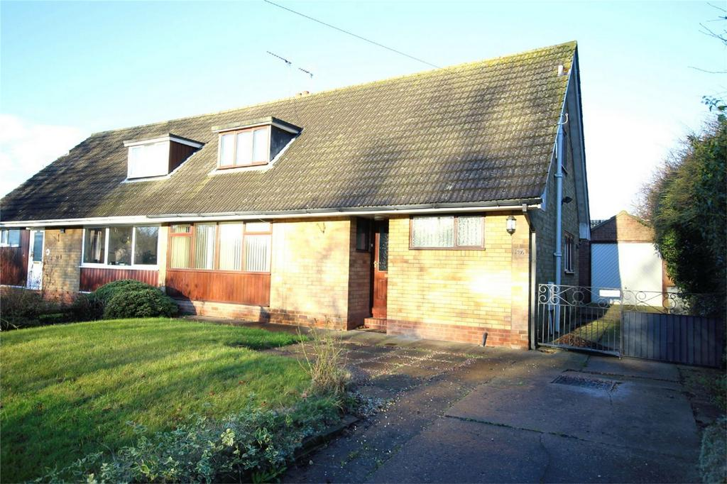 3 Bedrooms Semi Detached Bungalow for sale in Main Street, Skidby, Cottingham, East Riding of Yorkshire