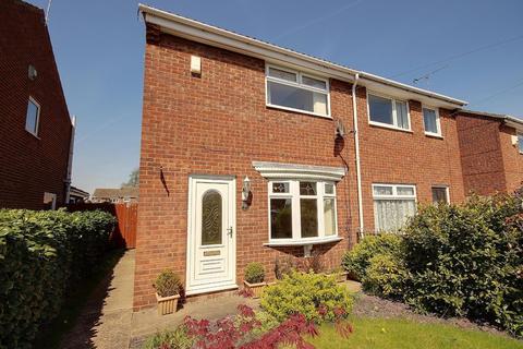 2 bedroom semi-detached house to rent - Derwent Close, Cottingham