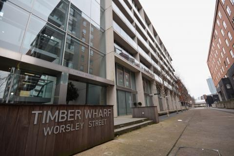 1 bedroom apartment to rent - Timber Wharf, Worsley Street, Castlefield Manchester, M15 4NZ