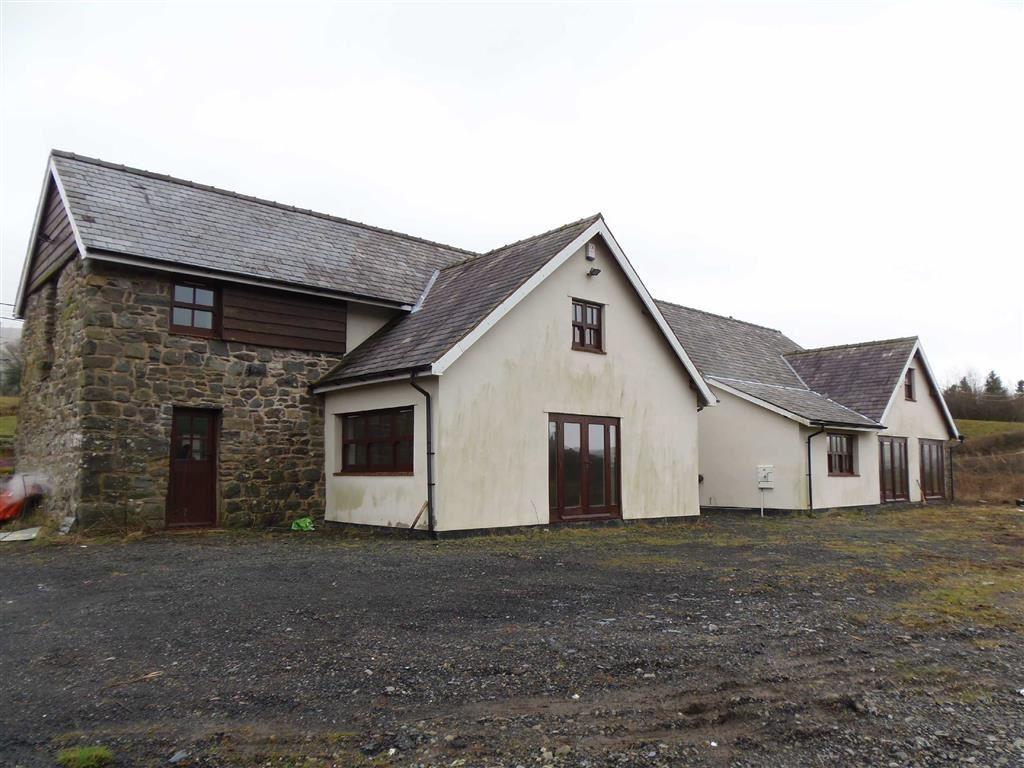 8 Bedrooms Barn Conversion Character Property for sale in Tyn Y Rhos Barn, Cwmllinau, Machynlleth, Powys, SY20