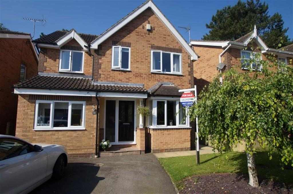 4 Bedrooms Detached House for sale in Meadowcroft Road, Driffield, East Yorkshire