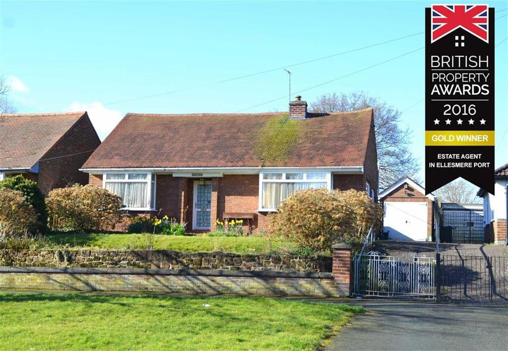 3 Bedrooms Detached Bungalow for sale in Rivacre Road, CH66