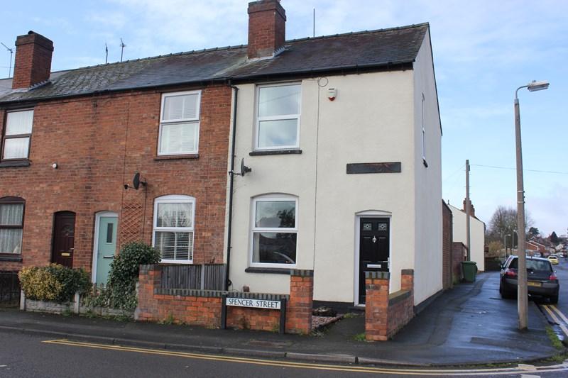 2 Bedrooms End Of Terrace House for sale in Spencer Street, Kidderminster