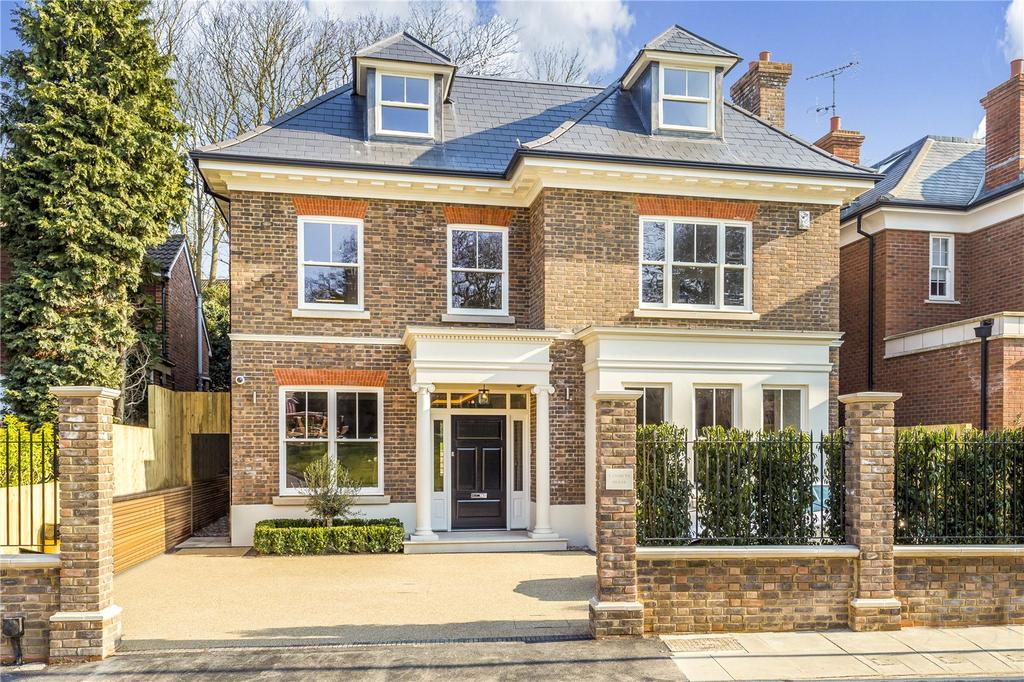 5 Bedrooms Detached House for sale in Margin Drive, Wimbledon, London, SW19