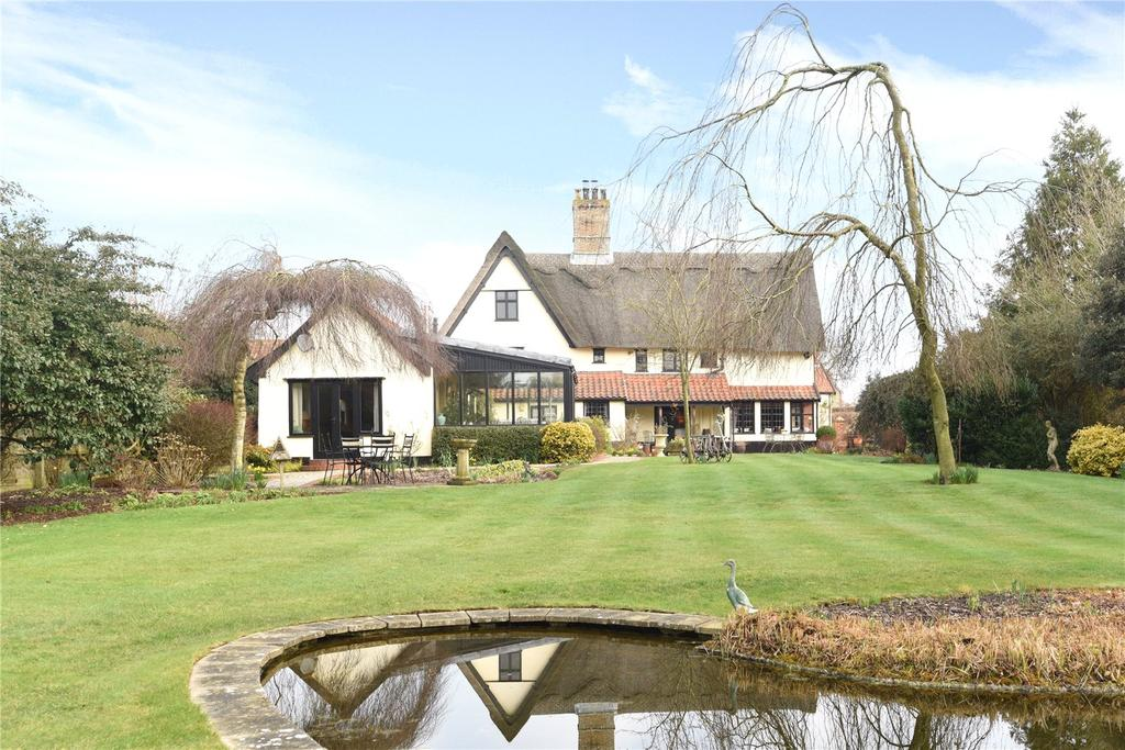 6 Bedrooms Detached House for sale in Fairstead Lane, Hempnall, Norwich, Norfolk