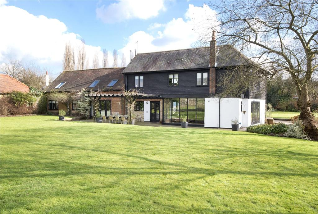 6 Bedrooms Equestrian Facility Character Property for sale in Fartherwell Road, West Malling, Kent, ME19