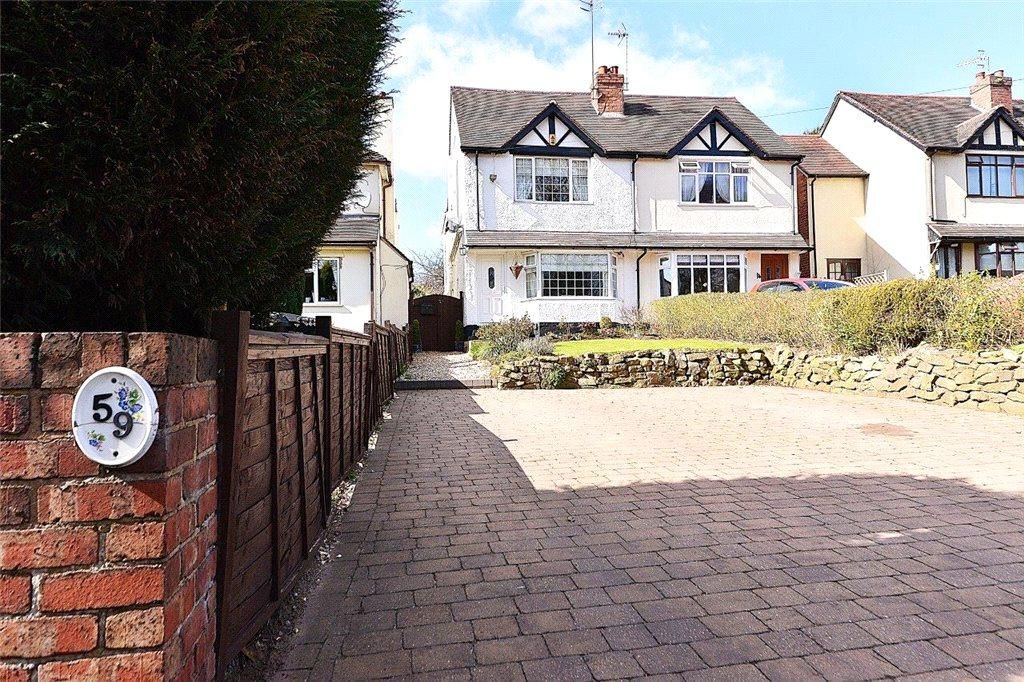 3 Bedrooms Semi Detached House for sale in Chester Road South, Kidderminster, Worcestershire, DY10