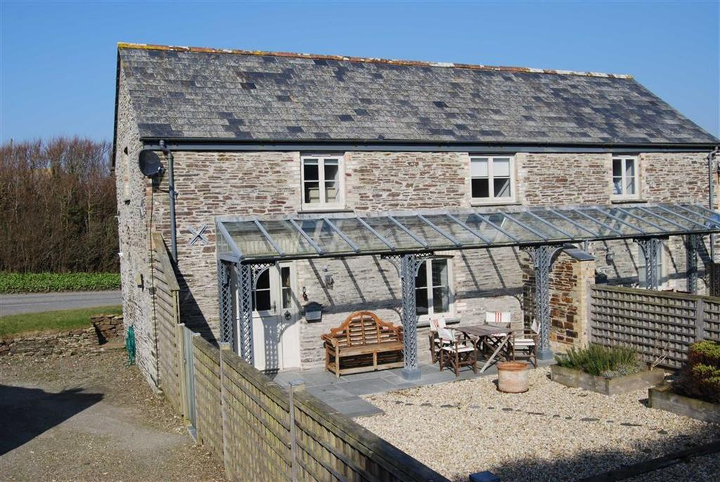 2 Bedrooms Semi Detached House for sale in Near Porthcothan Bay, Near Porthcothan Bay, Wadebridge, Cornwall, PL27