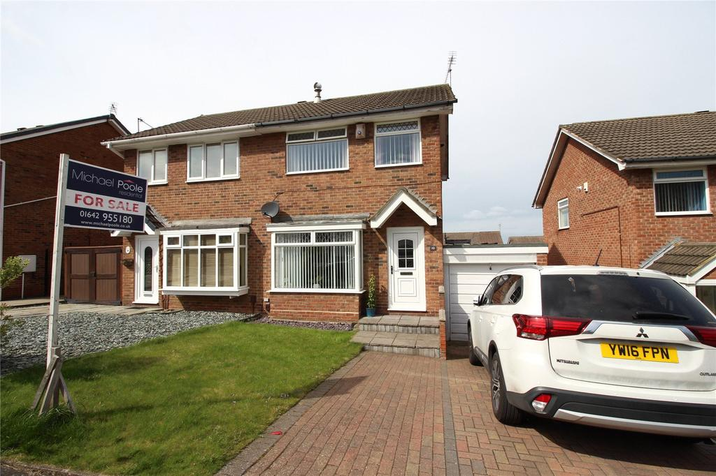 3 Bedrooms Semi Detached House for sale in Huntersgate, Eston