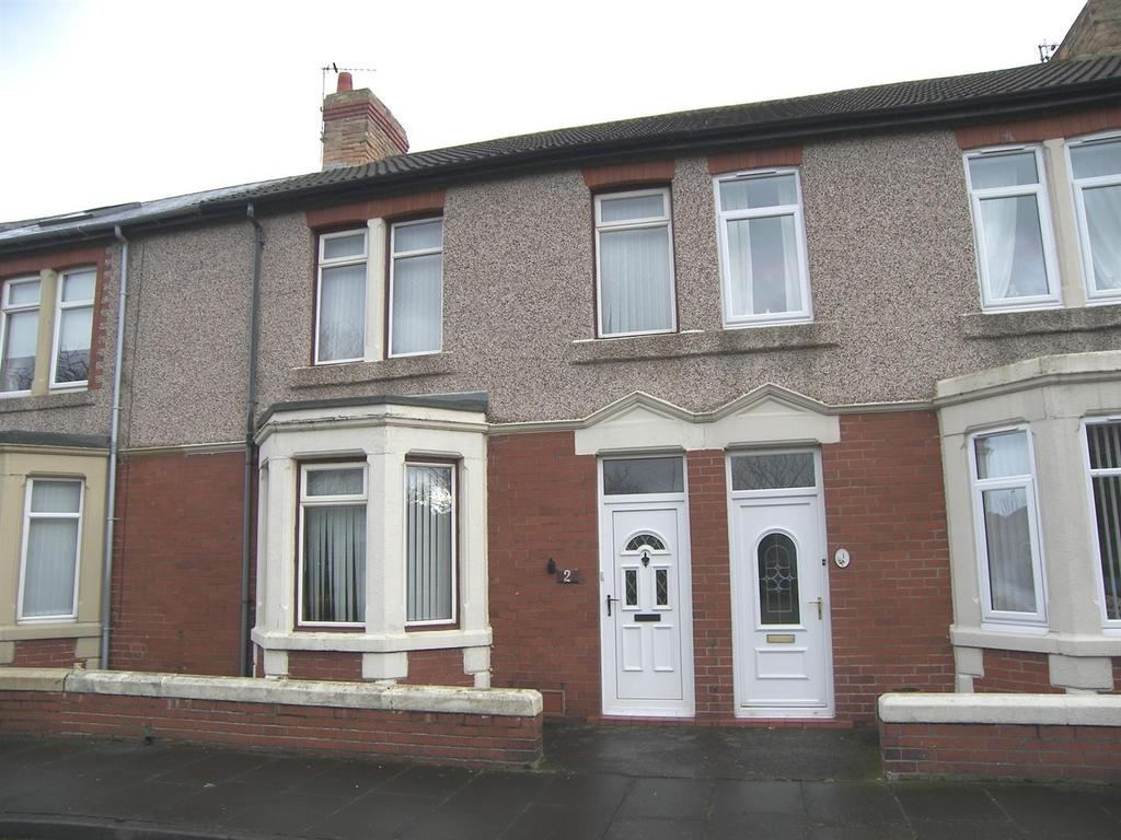 3 Bedrooms Terraced House for sale in Grasmere Terrace, Newbiggin-By-The-Sea