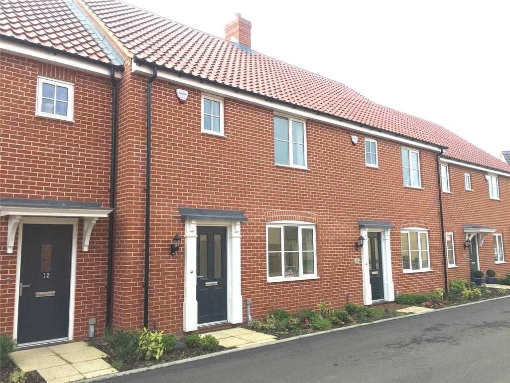 3 Bedrooms Terraced House for sale in Plot 43 Broadbeach Gardens, Stalham, Norfolk, NR12
