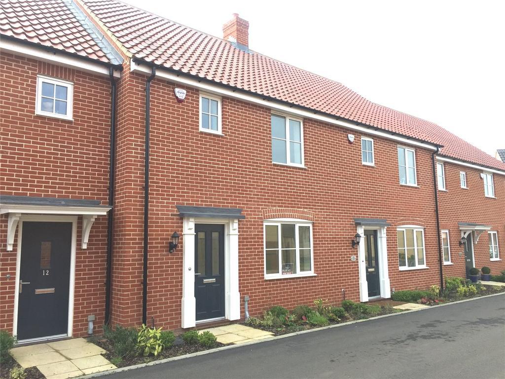 3 Bedrooms Terraced House for sale in Plot 43 Broadbeach Gardens, Stalham, Norfolk, NR12