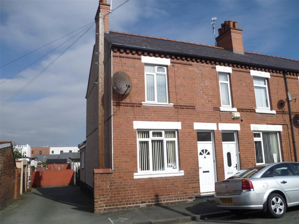 3 Bedrooms End Of Terrace House for sale in Birch Street, Wrexham, LL13