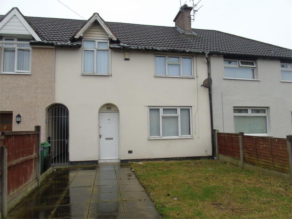 3 Bedrooms Terraced House for sale in Scarisbrick Drive, Norris Green, Liverpool, Merseyside, L11
