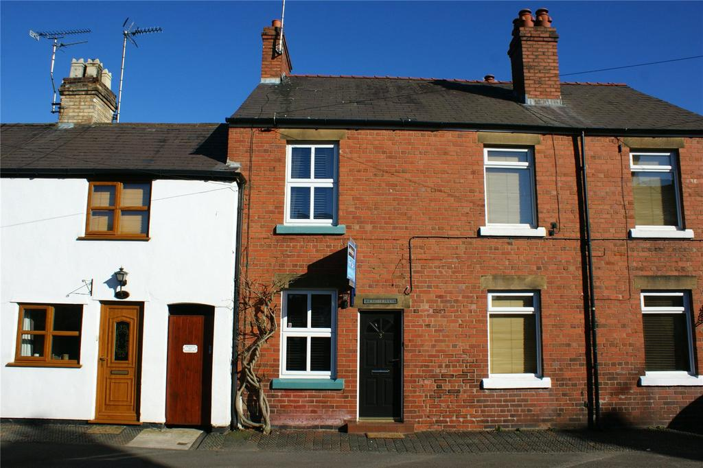 2 Bedrooms Terraced House for sale in Kimberley Cottages, High Street, Gresford, Wrexham, LL12