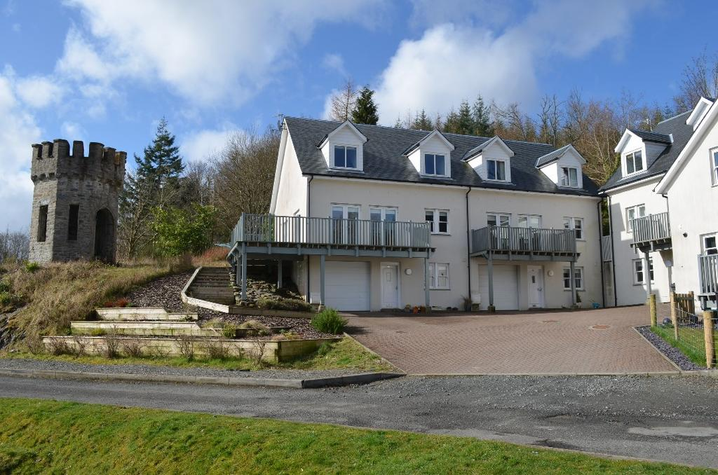 4 Bedrooms Town House for sale in Dalandhui Mews, Garelochhead, Argyll Bute, G84 0BE