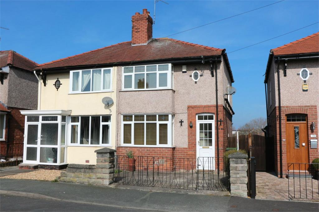 3 Bedrooms Semi Detached House for sale in St Johns Road, Hightown, Wrexham, LL13