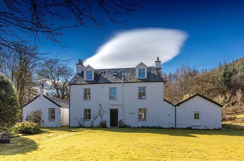 4 Bedrooms Unique Property for sale in Glenbranter House, Glenbranter, By Strachur, Argyll, PA27