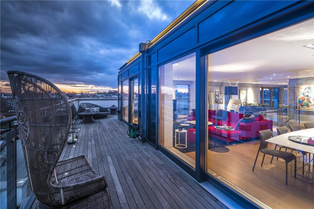 4 Bedrooms Flat for sale in The Penthouse, The Henson Building, 30 Oval Road, Camden, NW1