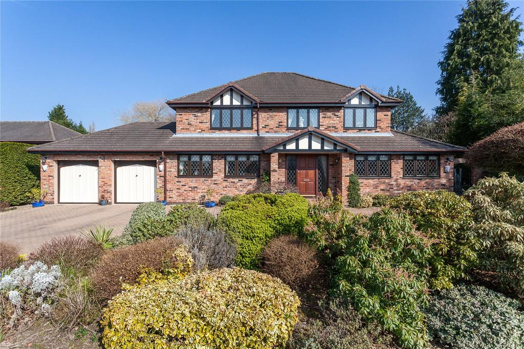 4 Bedrooms Detached House for sale in Sherbrook Rise, Wilmslow, Cheshire, SK9