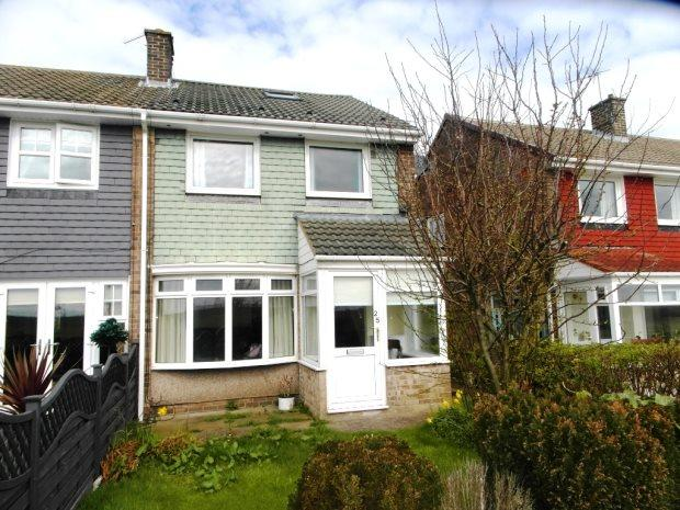 2 Bedrooms Terraced House for sale in MELROSE AVENUE, MURTON, SEAHAM DISTRICT