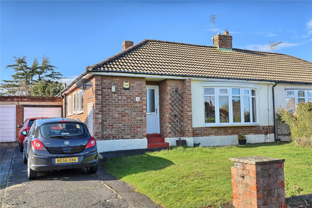 2 Bedrooms Semi Detached Bungalow for sale in The Gables, Marton