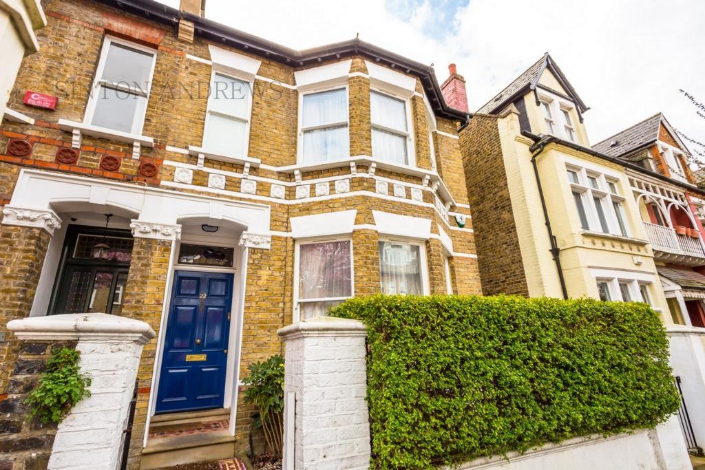 4 Bedrooms Semi Detached House for sale in Disraeli Road, Ealing, W5