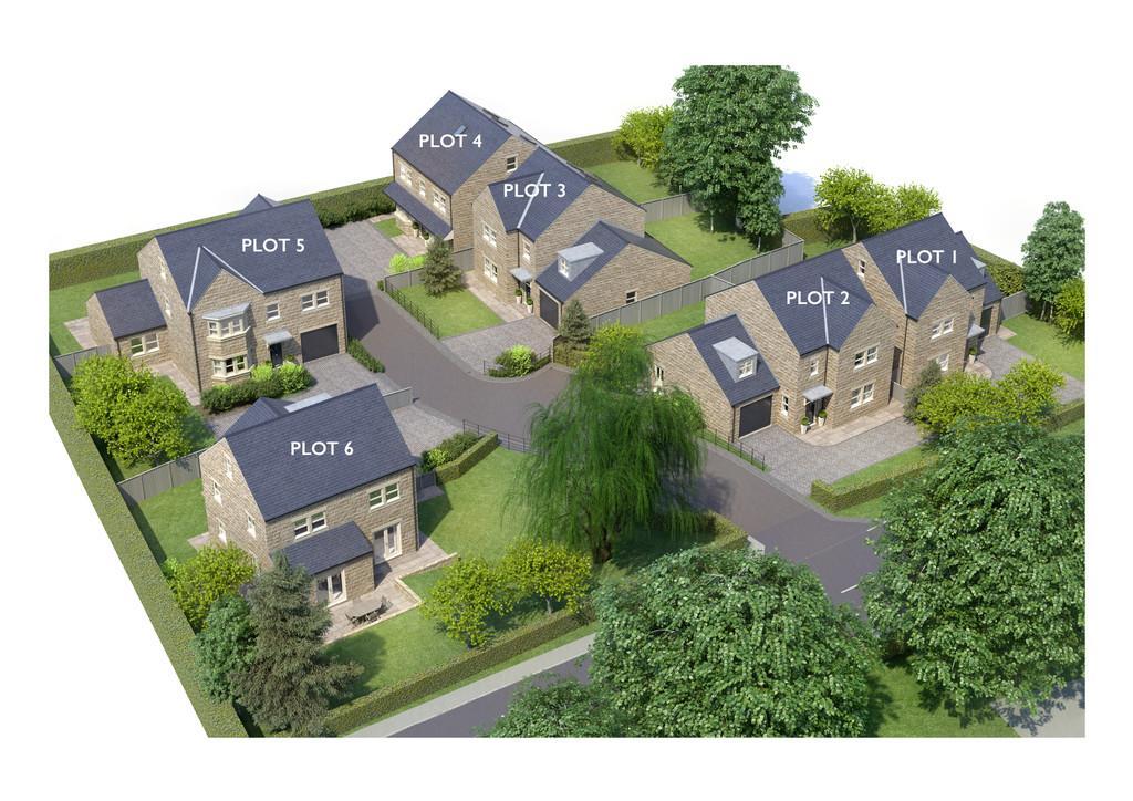 5 Bedrooms Detached House for sale in Plot 2 Willow Gardens, Green Lane, Harrogate