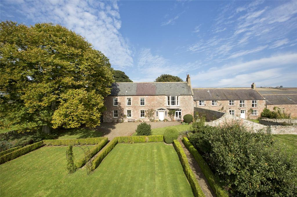 4 Bedrooms Detached House for sale in High Letham Farmhouse, High Letham, Berwick-Upon-Tweed, Northumberland