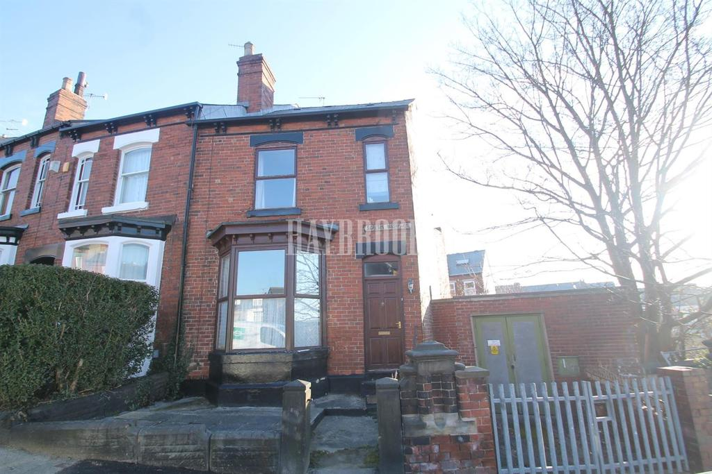 3 Bedrooms End Of Terrace House for sale in South View Road, Nether Edge, S7