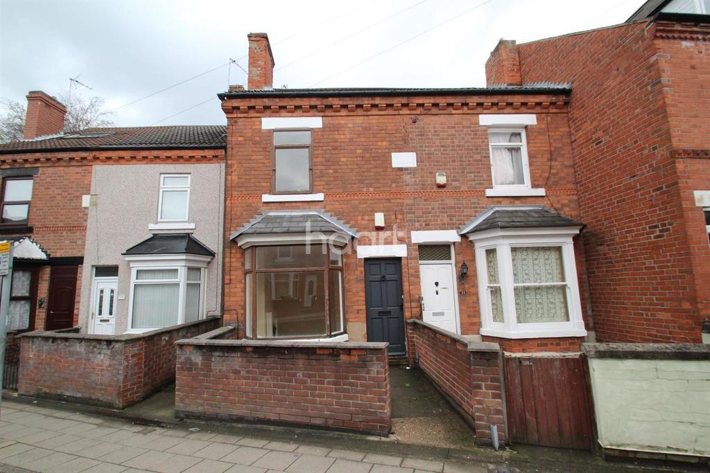 3 Bedrooms Terraced House for sale in Yorke Street, Hucknall