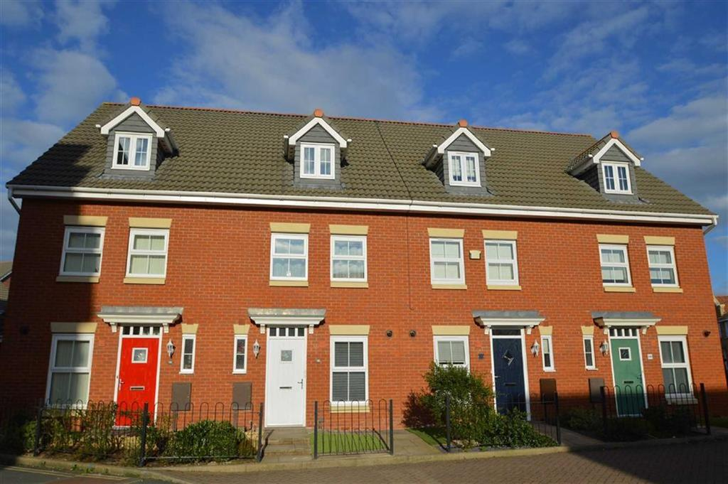 3 Bedrooms Terraced House for sale in Greenfields Garden, Greenfields, Shrewsbury